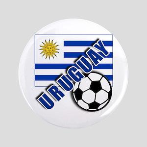 "URUGUAY Soccer Team 3.5"" Button"
