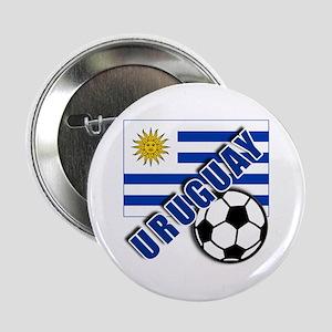 "URUGUAY Soccer Team 2.25"" Button"
