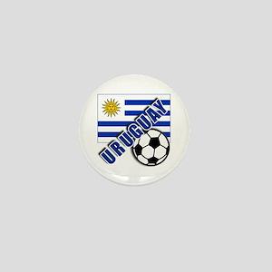 URUGUAY Soccer Team Mini Button