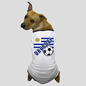 URUGUAY Soccer Team Dog T-Shirt