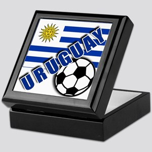 URUGUAY Soccer Team Keepsake Box