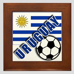URUGUAY Soccer Team Framed Tile