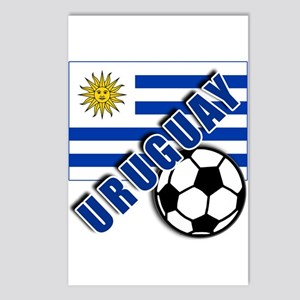 URUGUAY Soccer Team Postcards (Package of 8)