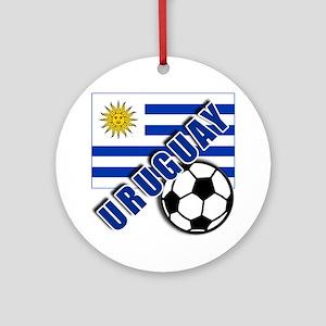 URUGUAY Soccer Team Ornament (Round)