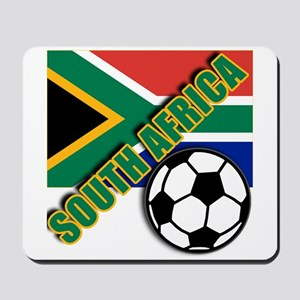 World Soccer South Africa Team T-shirts Mousepad