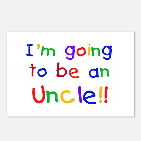 Going to be an Uncle Postcards (Package of 8)