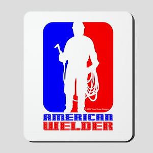 American Welder Mousepad