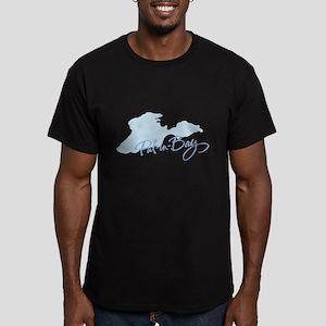 Put-in-Bay Men's Fitted T-Shirt (dark)