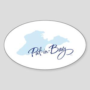 Put-in-Bay Sticker (Oval)