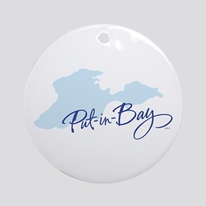 Put-in-Bay Ornament (Round)