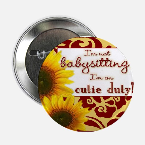 "Cute New sister 2.25"" Button"