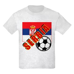 World Soccer SERBIA Team T-shirts T-Shirt