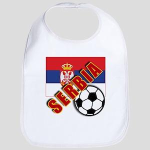 World Soccer SERBIA Team T-shirts Bib