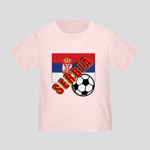 World Soccer SERBIA Team T-shirts Toddler T