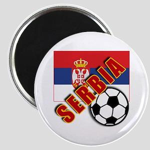 World Soccer SERBIA Team T-shirts Magnet