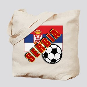 World Soccer SERBIA Team T-shirts Tote Bag