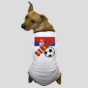 World Soccer SERBIA Team T-shirts Dog T-Shirt