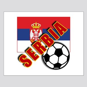 World Soccer SERBIA Team T-shirts Small Poster