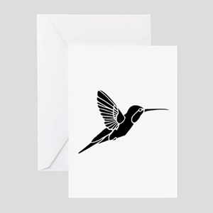 Hummingbird silhouette Greeting Cards (Pk of 10)