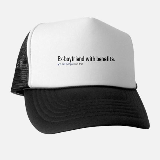 EX-BOYFRIEND WITH BENEFITS 69 Trucker Hat
