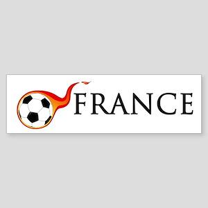 France Soccer Sticker (Bumper)