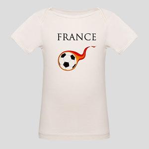France Soccer Organic Baby T-Shirt