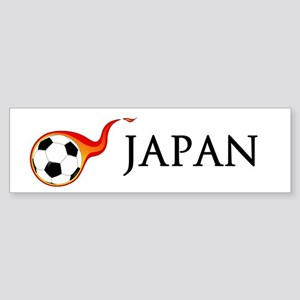 Japan Soccer Sticker (Bumper)