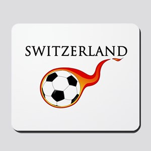 Switzerland Soccer Mousepad