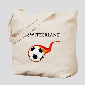 Switzerland Soccer Tote Bag