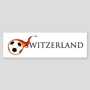 Switzerland Soccer Sticker (Bumper)