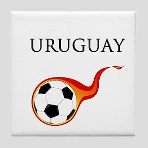 Uruguay Soccer Tile Coaster