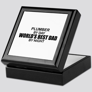 World's Best Dad - Plumber Keepsake Box