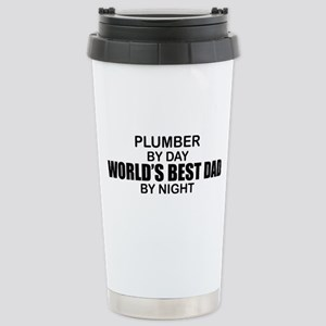 World's Best Dad - Plumber Stainless Steel Travel