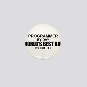 World's Best Dad - Programmer Mini Button