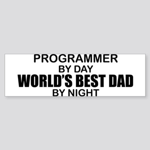 World's Best Dad - Programmer Sticker (Bumper)