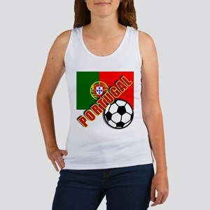 World Soccer PortugalTeam T-shirts Women's Tank To