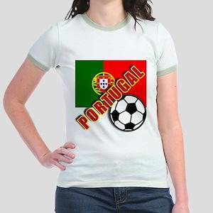 World Soccer PortugalTeam T-shirts Jr. Ringer T-Sh