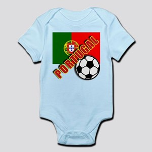 World Soccer PortugalTeam T-shirts Infant Bodysuit