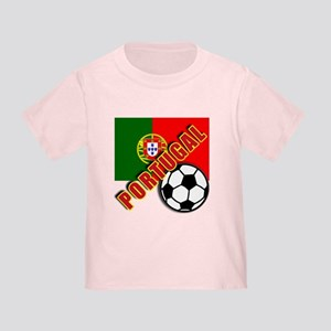 World Soccer PortugalTeam T-shirts Toddler