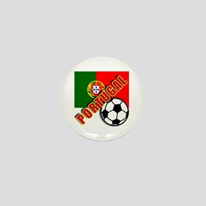 World Soccer PortugalTeam T-shirts Mini Button