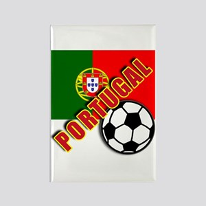 World Soccer PortugalTeam T-shirts Rectangle Magne