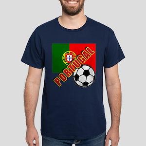 World Soccer PortugalTeam T-shirts Dark T-Shirt