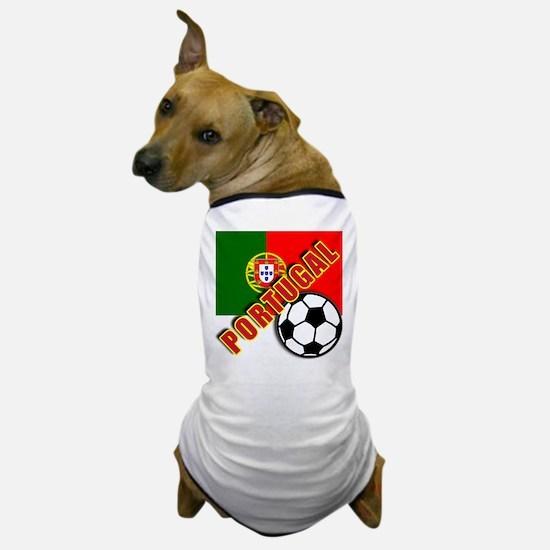 World Soccer PortugalTeam T-shirts Dog T-Shirt