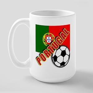 World Soccer PortugalTeam T-shirts Large Mug