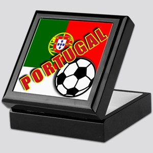 World Soccer PortugalTeam T-shirts Keepsake Box