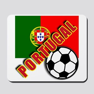 World Soccer PortugalTeam T-shirts Mousepad