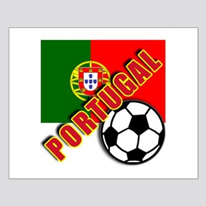 World Soccer PortugalTeam T-shirts Small Poster