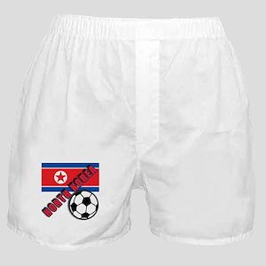 NORTH KOREA Soccer Boxer Shorts