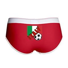 World Soccer ITALY Women's Boy Brief