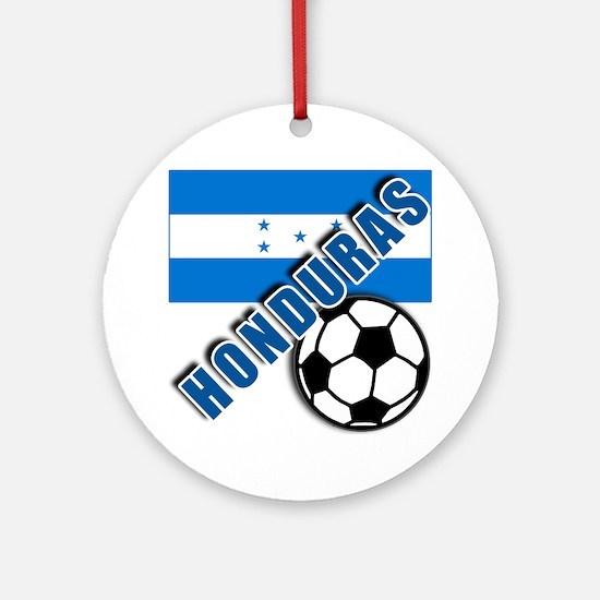 World Soccer Honduras Ornament (Round)